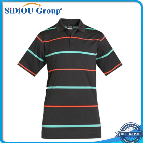double mercerized cotton golf polo shirts