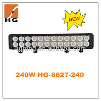 "20"" 240w cree led light bar 10w cree offroad led light bar"