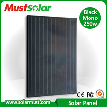 China Manufature High Efficiency 250w Solar Panel