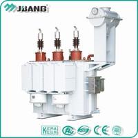 Substation mounted 13.8KV 8000 kva 8 mva 3 phase oil immersed power transformer