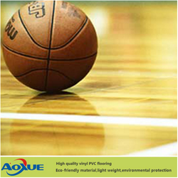 PVC Sports Flooring for Indoor Basketball/tennis/badminton and volleyball Court Used