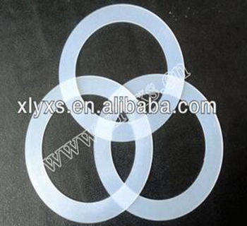 Custom made clear silicone gasket material