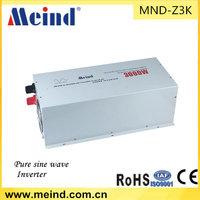 Meind solar inverter 3000w DC12V TO AC220V 50HZ Pure sine wave inverter for solar off grid system