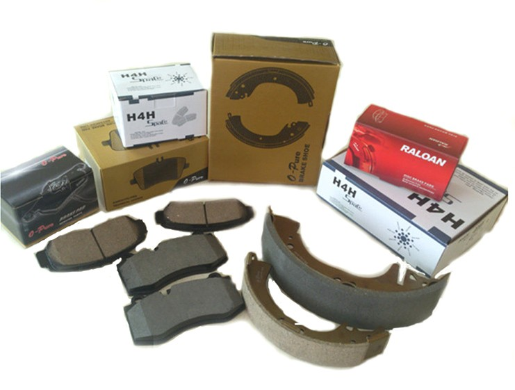 44060-G9825 Car Chassis Parts K2280 Semi-metallic Car Brake Shoes 04495-60060 For Nissan Patrol Toyota Land Cruiser 04495-60051