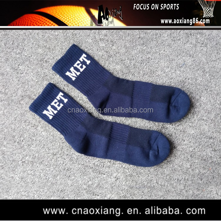 Guangzhou OEM Comfortable Basketball Sock High Quality Custom Made Socks