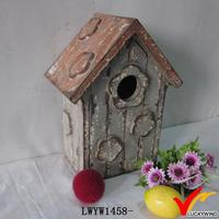 shabby cottage wooden bird houses of wood