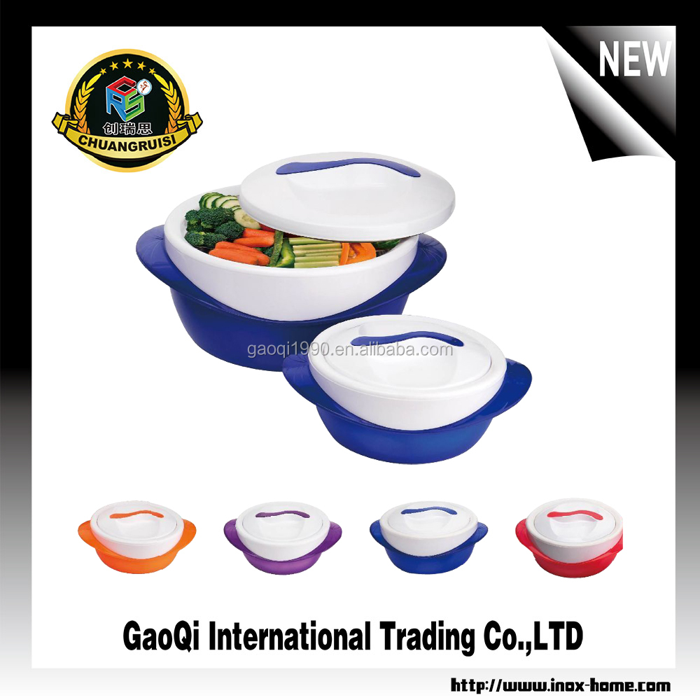 4pcs stainless steel food warmer container hot pot lunch box