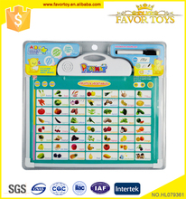English learning electronic waterproof eco-friendly baby drawing board