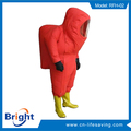 totally enclosed chemical protective suit