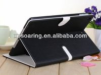 Hot sell Stand leather case cover for ipad air ipad 5