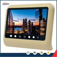 hot selling with usb dvd hd 9 inch car headrest monitor