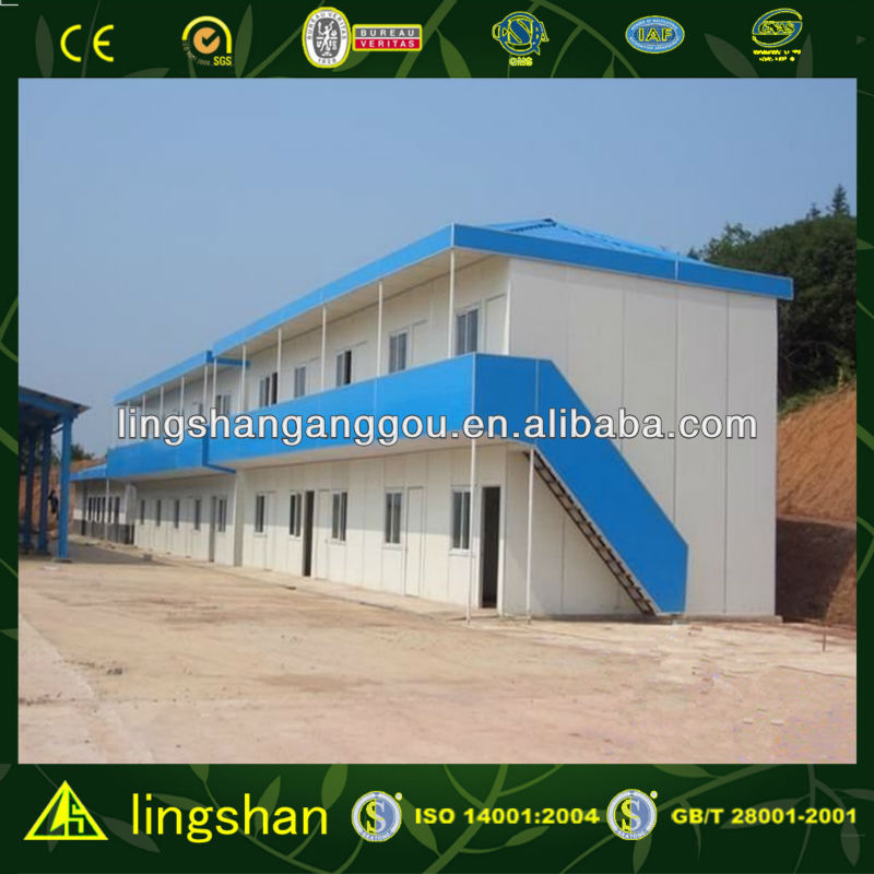 CE Certificated Stable Anti-earthqake Prefab House for Factory Office/work shop/warehouse