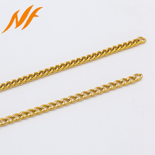 Fashion jewelry accessories decorative jewelry metal chain roll for necklace