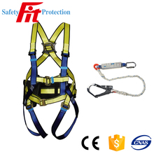Hanging climbing safety belt with hook