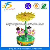 amusement centre Bee Paradise carousel carousel for sale