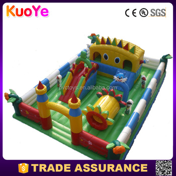 commerial grade factory price inflatable fun city,inflatable amusement park