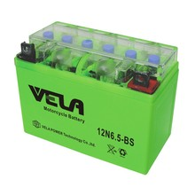 12V 6.5Ah motorbike battery motorcycle battery capacity 6.5ah gel battery 12N6.5