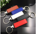 Leather USB Flash Drive Bulk Wholesale USB Port USB With Keychain