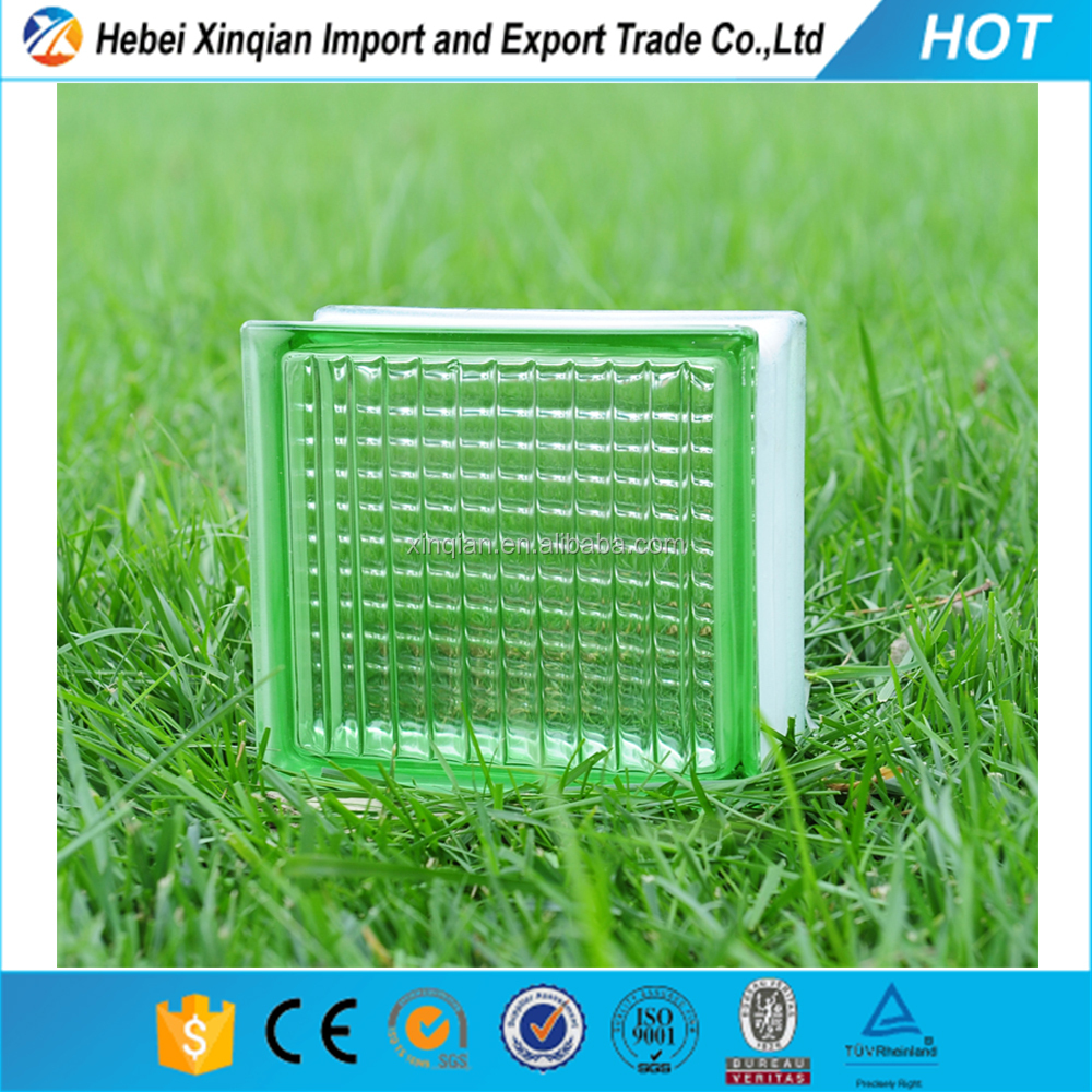 190*190*80mm acrylic glass block, crystal glass brick
