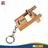 Hot Sale Wooden USB flash drive pen drives with Packing box 2GB 4GB 8GB 16GB 32GB memory stick gift