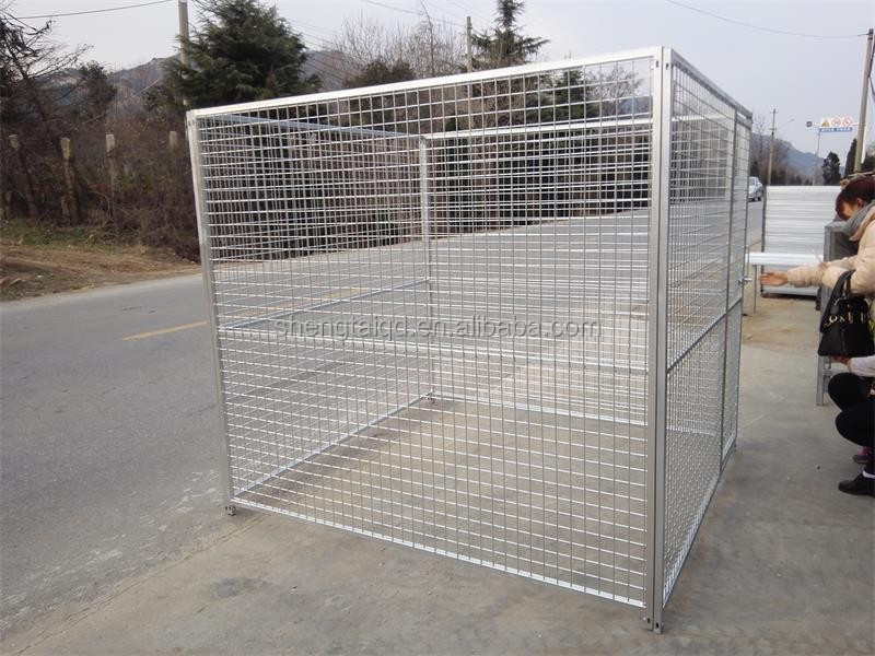 cheap large cage house dog kennel runs