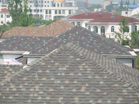 China Supplier Roofing Felt , Customizable 3 Tab Fiber Cement Roof Shingles Price