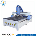 NC-1325 cnc router machine 4d 1300*2500mm with Rotary attachment