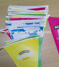 Custom Made String Triangle Flag Bunting Advertising Banner