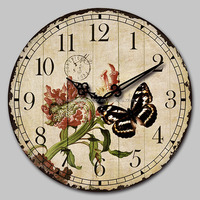 Home Decoration Quartz Analog Type Canvas Picture Wall Clock,decorative wall clock