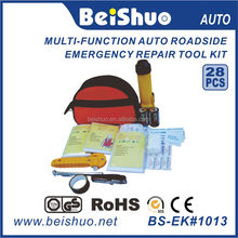 BS-EK#1013 Roadside auto emergency tool kit,Car first aid kit