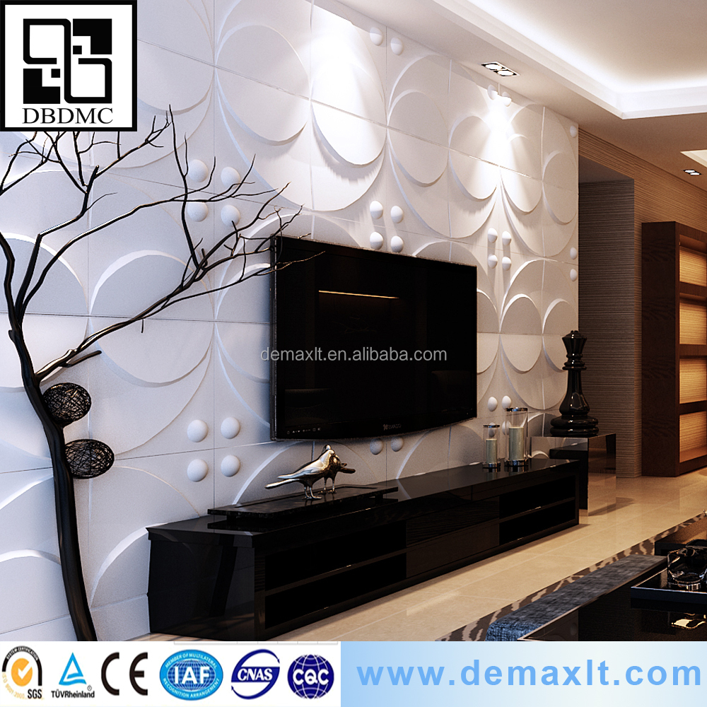 wall panel Interior decoration bagasse 3d wall panel
