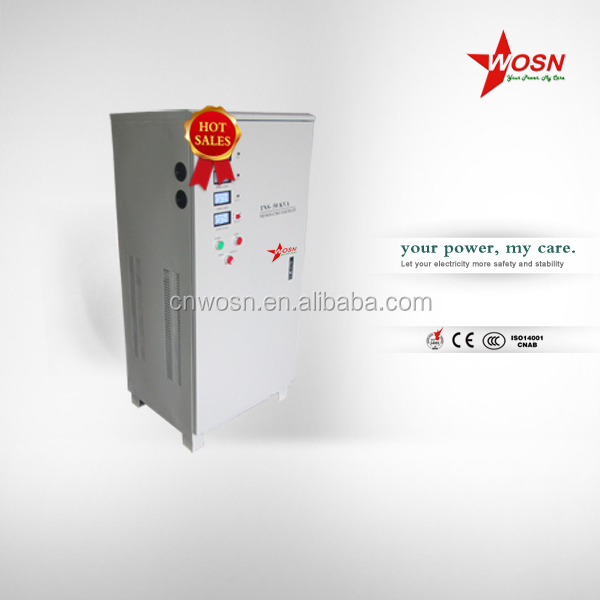 pwm igbt 50kva static voltage stabilizer