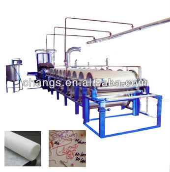 XHB non woven fusible/good textile embroidery backing machine