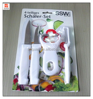 KS-555 High quality kitchen knife and peeler set