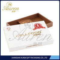 decorative food grade printing frozen food box packaging