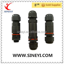 Waterproof connector 2P/3P/4P/5P screw connection best selling