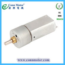 certification variable speed dc geared motor with metal gear box