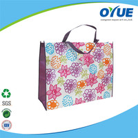 Eco Friendly fashion style colorful non woven foldable tote bag