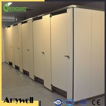 Amywell Public commercial 12mm solid phenolic toilet partitions