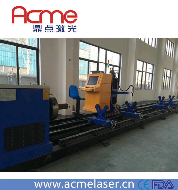 Steel Square Pipe Round Tube Plasma Cutting Machine with CE
