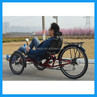 Long Quality Warranty 3 Wheel Recumbent Trike