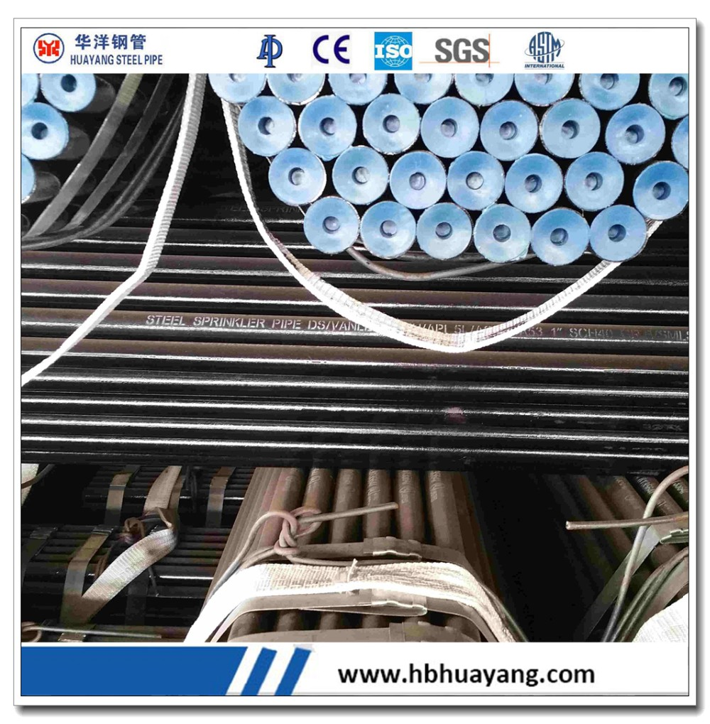 Schedule 60 A312 A320 pipes seamless steel