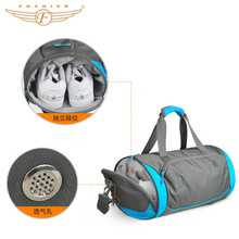 Most Popular Custom Waterproof Duffle Gym Bag With Shoe Compartment