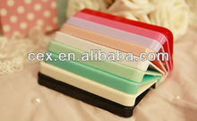 For Apple iPhone 4 4s Wholesales Multi Candy Color Plastic PC Hard Case As a Gift