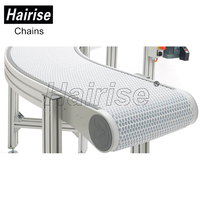 Hairise round 90 degree 180 degree turning roller curve swerve belt bend conveyor turntable angle system