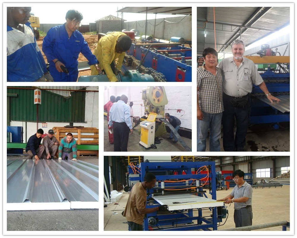 Factory Prices Making Building Material Wall Panel Metal Roofing Corrugated Tile Roll Forming Machine For Sale