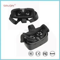 Customized 3D VR Glasses, All in One OEM Virtual Reality Headset for 3d Video Games