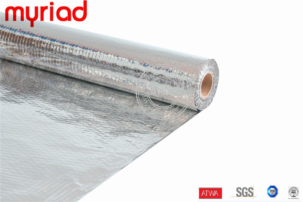 Fsk facing vacuum insulation panel fireproof insulation in for Fireproof vapor barrier