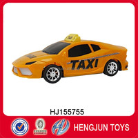 wholesale mini model toy cars inertia taxi toys in shantou China