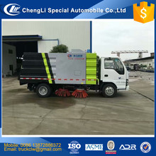 Japan brand 4x2 Street Sweeper Truck hydraulic road sweeper 5M3 6M3 8M3 12M3 20M3 power broom sweeper vehicle manufacturer